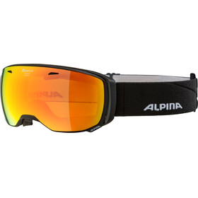 Alpina Estetica MM Goggle black matt red spherical